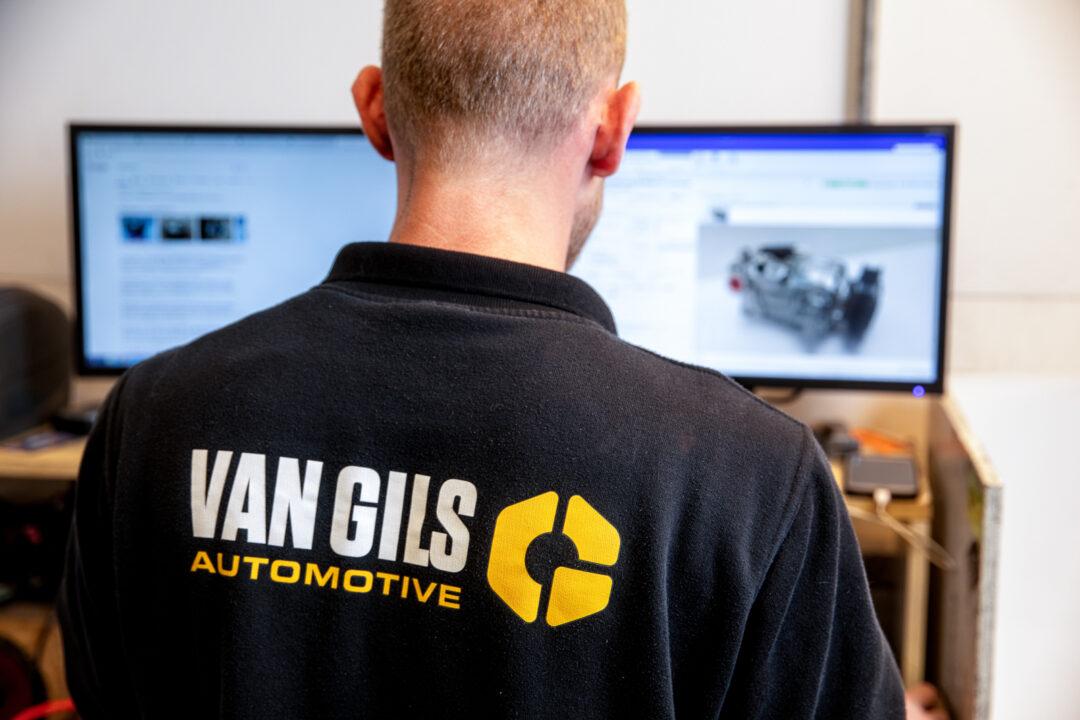 Bedrijfsfotografie voor van Gils Automotive