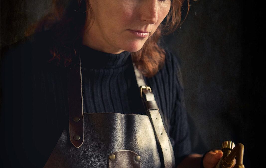 Portret edelsmid Irene Cornel